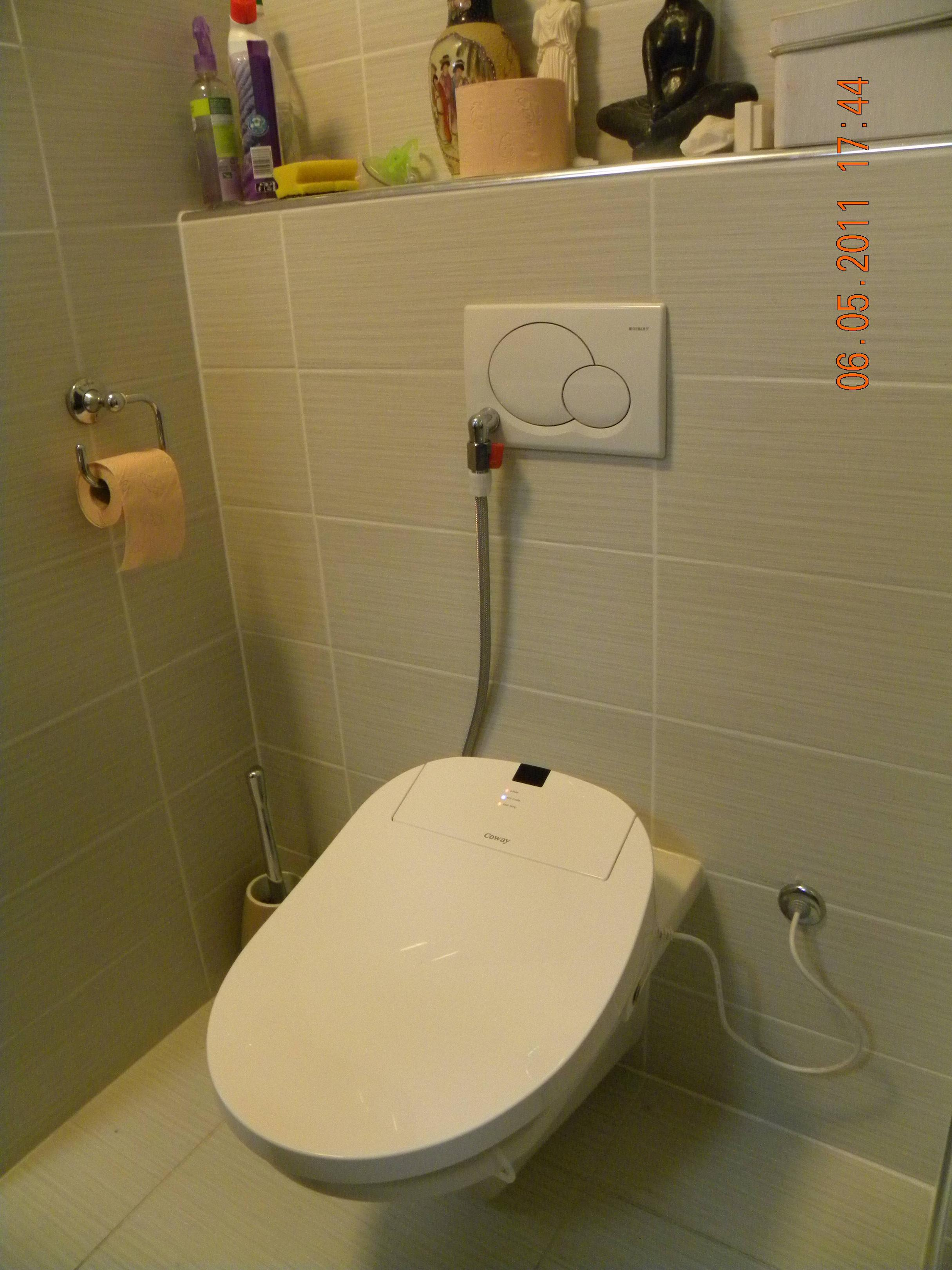 Coway ba13-BE digital toilet bidet seat