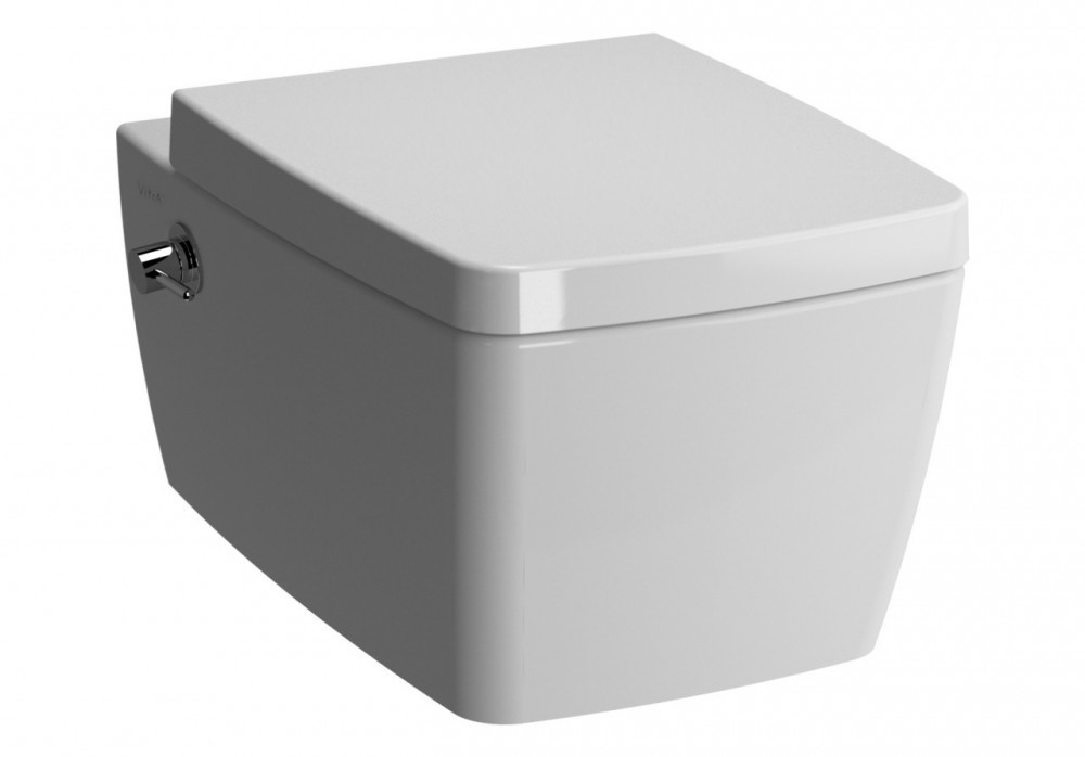 Vitra Metropole Wall Mounted Washdown Toilet With Bidet