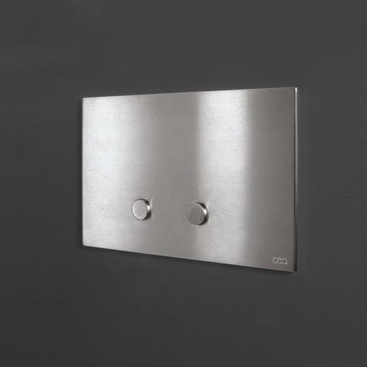 Cea Design Hydroplate Pla01 Plate For Dual Flush Satin