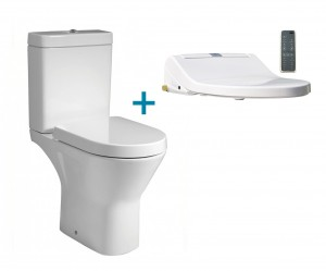 comfort height shower toilet bidet seat