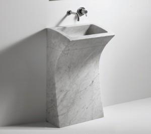 Agape LITO 3 Wasbasin in marble