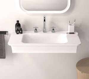 Agape NOVECENTO XL Rectangular washbasin