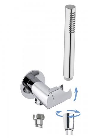 round adjustable water supply holder with Cami handshower