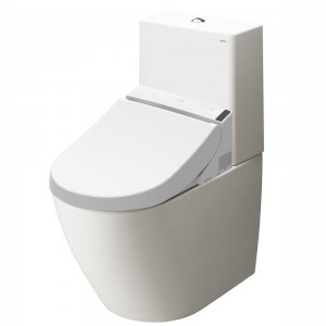 Combination WASHLET GL 2.0 with side connections + WC MH, CLOSE COUPLED