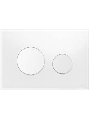 TECE loop white flush plate