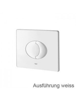 Grohe Skate Air toilet flush plate, for horizontal installation white