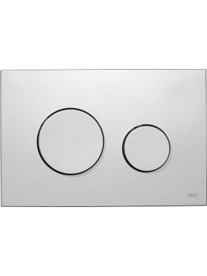 TECE loop toilet flush plate system mat chrome 9240625
