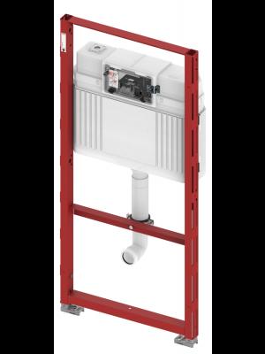 TECE profil floor standing toilet module with concelead cistern, H:112 cm 9300088