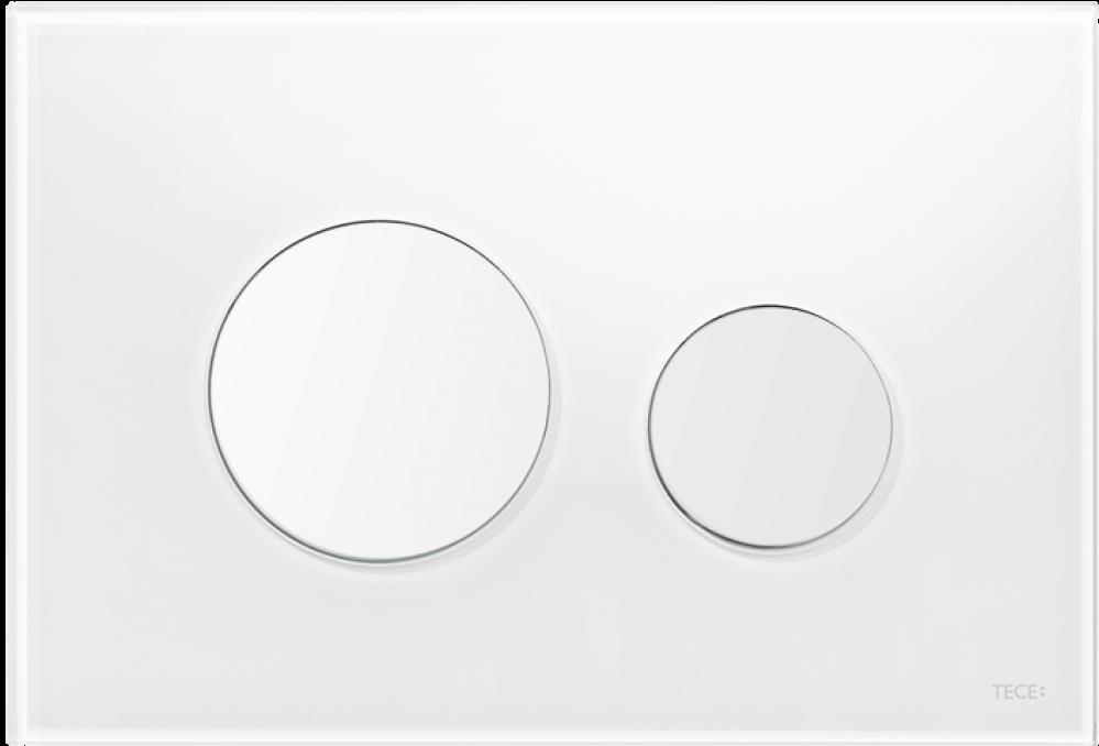 TECE loop white flush plate