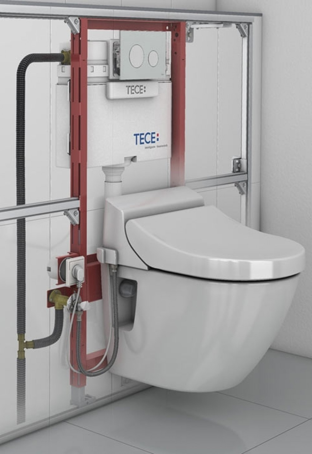 toto washlet ek side connection installation