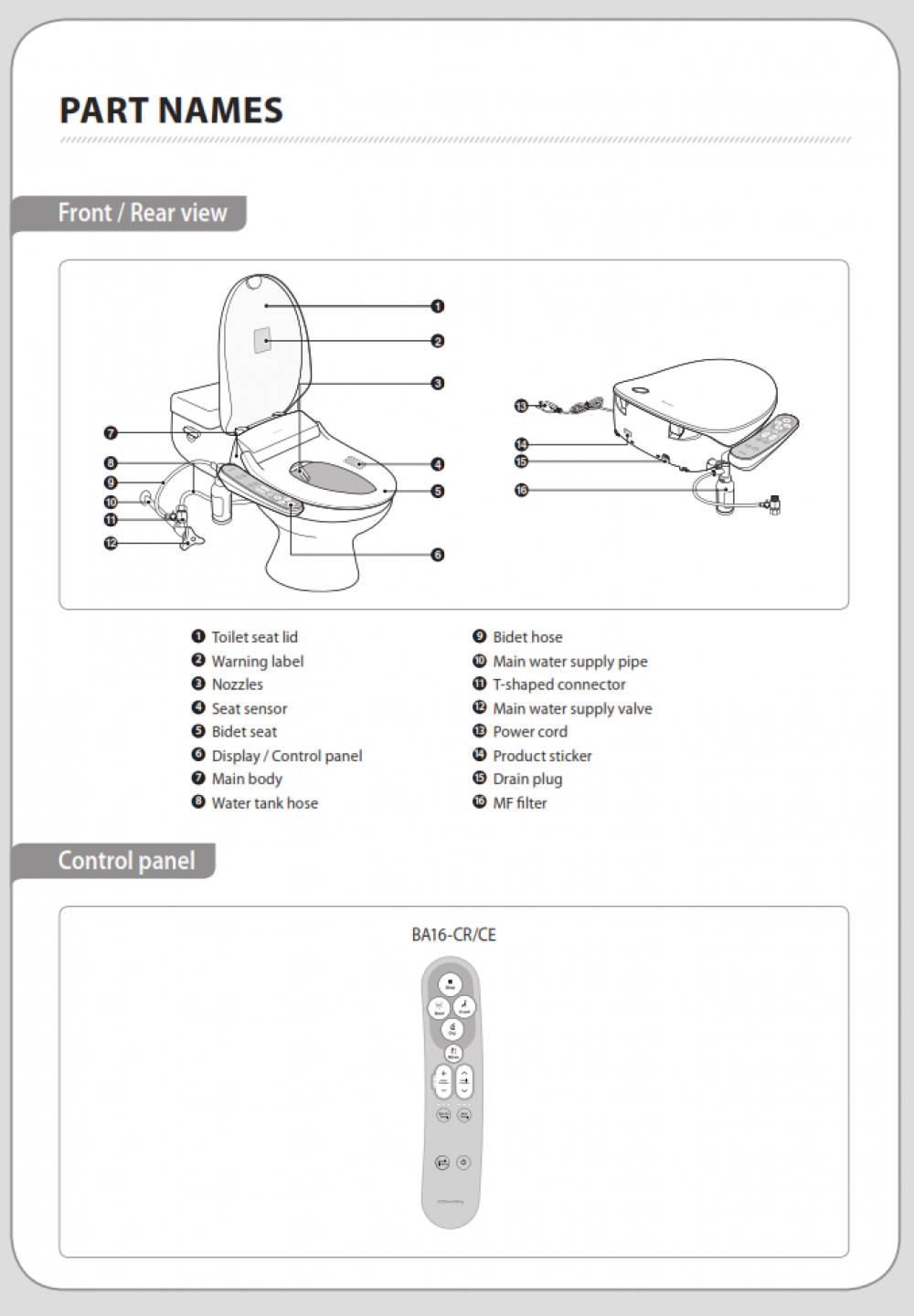coway bas16-c parts review tooaleta bidet