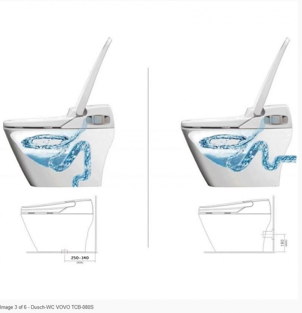 Vovo Princess PB 707S flushing system bidet toilet