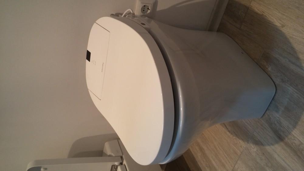 Coway Ba13 Be Washlet Sanitosco Raised Height 18 5 Quot 47cm