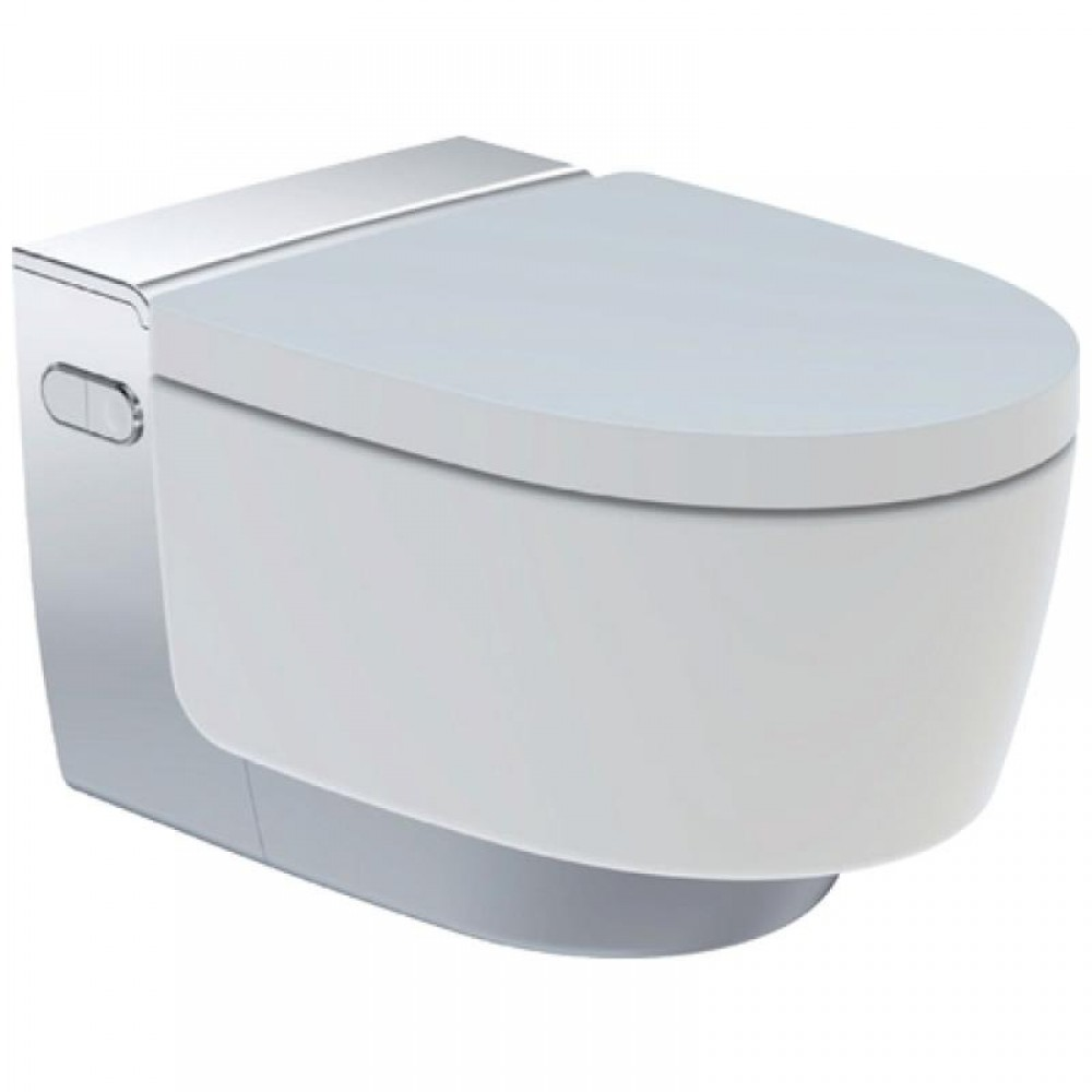 Awe Inspiring Geberit Aquaclean Mera Comfort Wall Hung Toilet Washlet Combination Dailytribune Chair Design For Home Dailytribuneorg