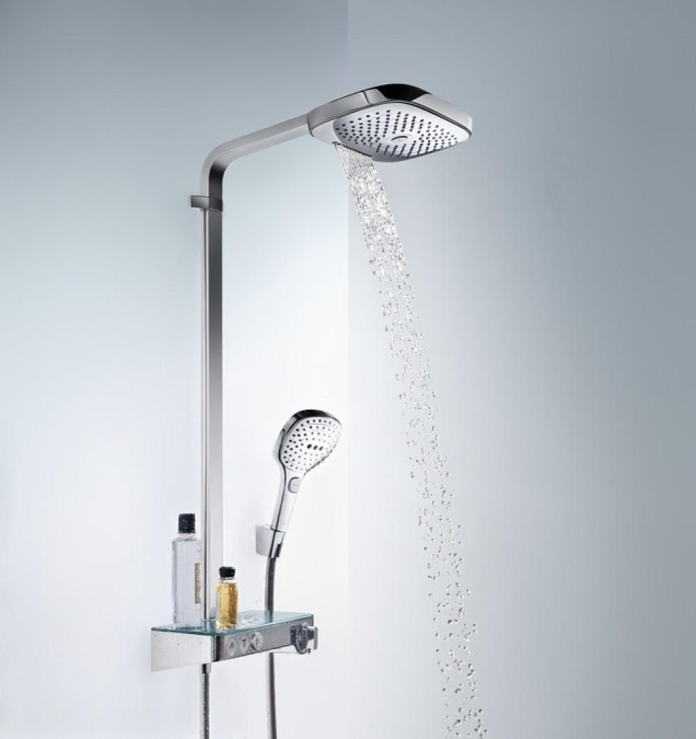 Hansgrohe Raindance Select E 300 3jet Showertablet Showerpipe