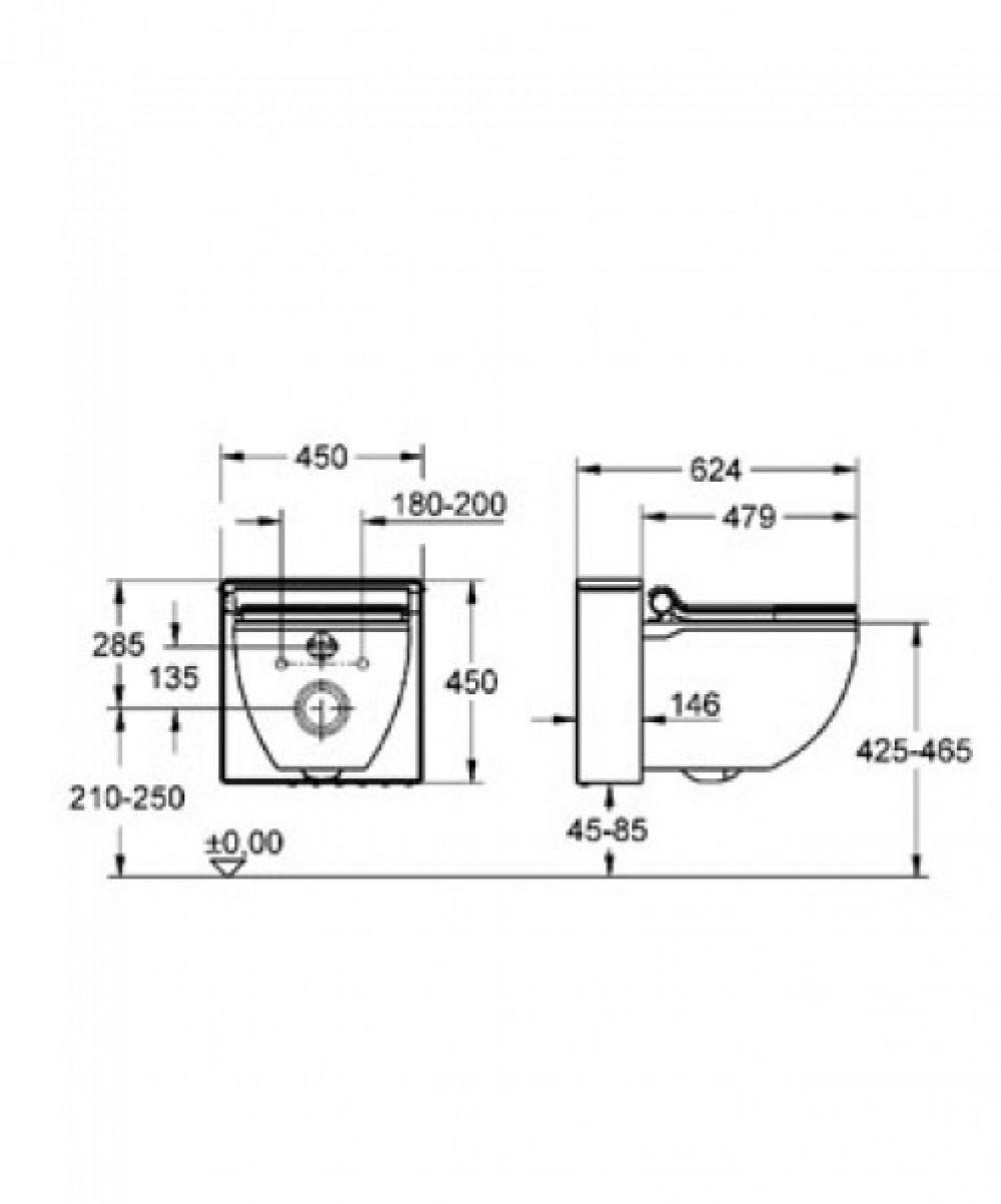 Grohe Sensia Igs Toilet With Bidet Function Tooaleta