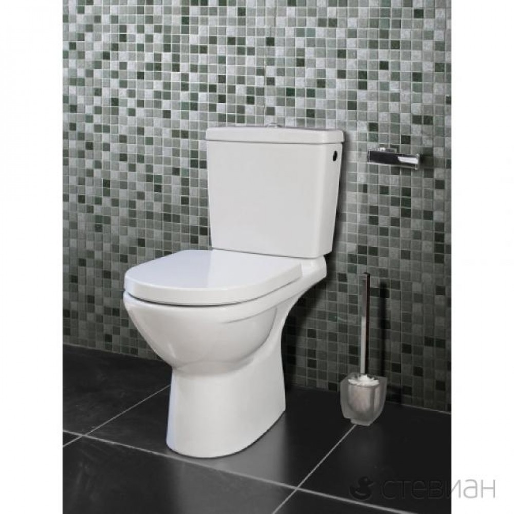 Villeroy & Boch O.novo floor-standing, close-coupled washdown wras