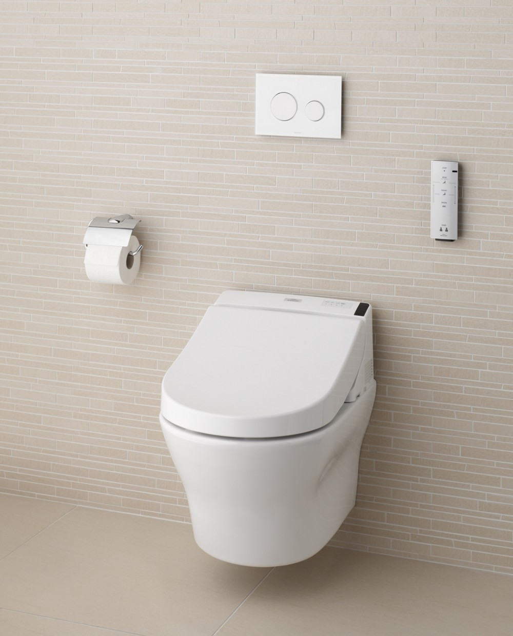 combination WASHLET GL 2.0 (with hidden connections) + TOTO WC MH, wall-hung only for WASHLET