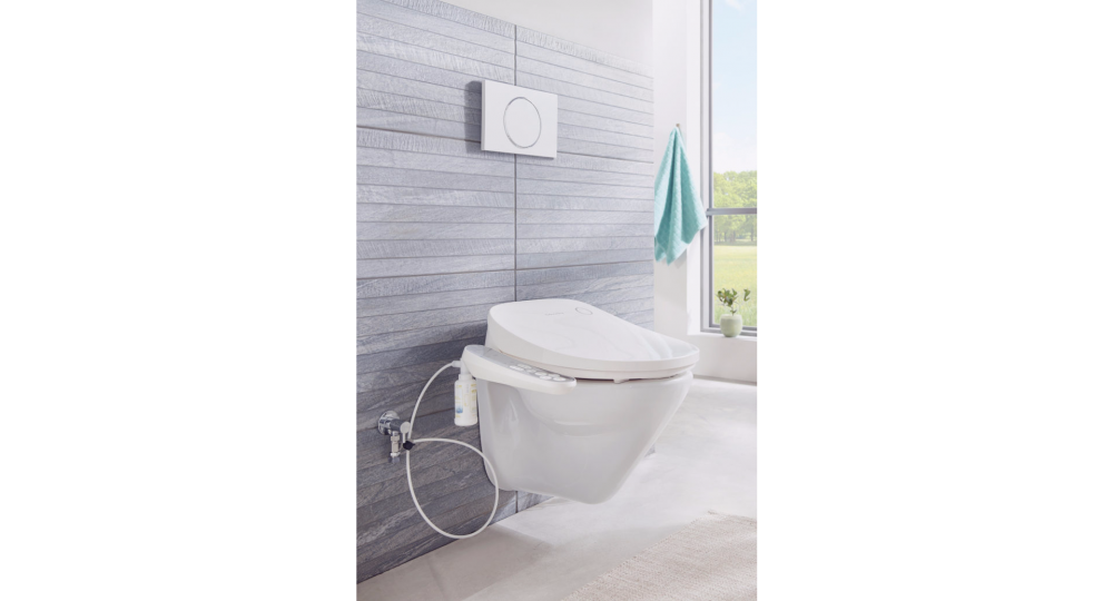 coway bas16 electric toilet bidet seat