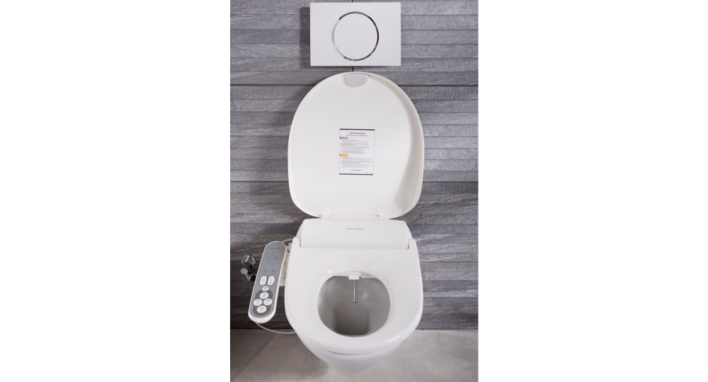 toilet with bidet coway bas16 ba16