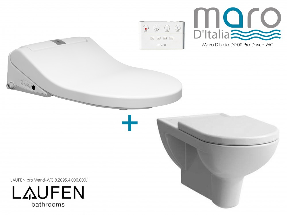 Maro D\'Italia DI600 Premium Italian Design toilet bidet seat Tooaleta