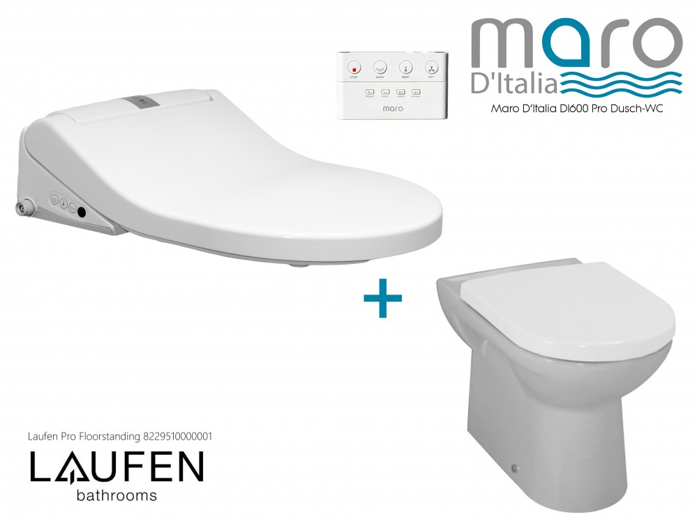 Maro D'italia washlet laufen pro combination bidet