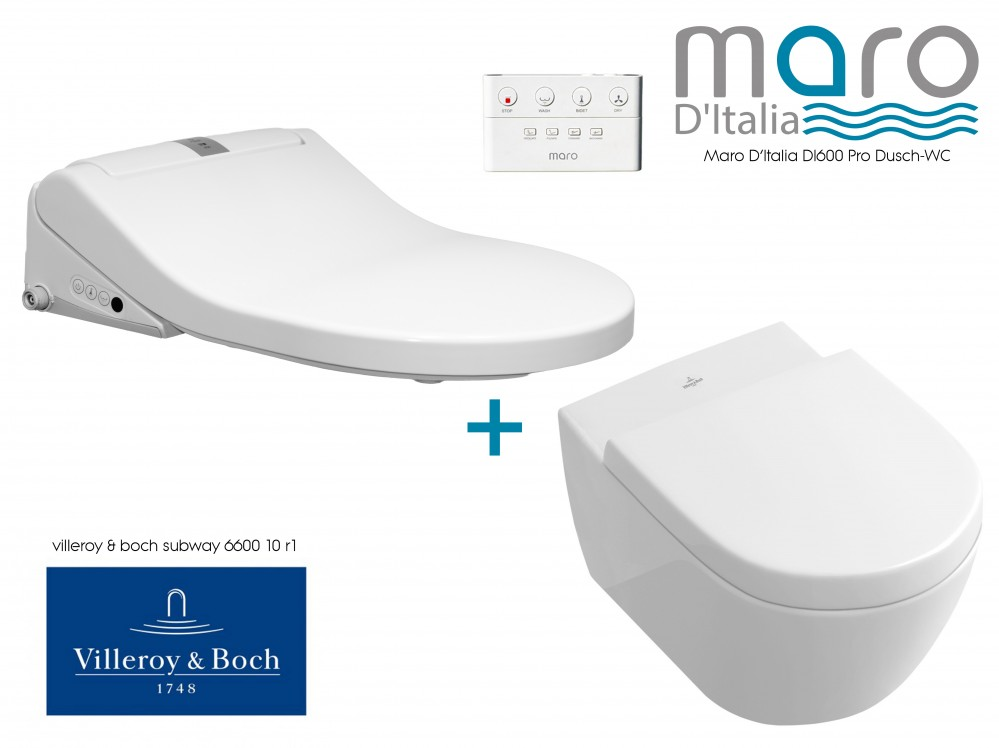 shower toilet combination villeroy and boch subwy maro d'italia di600 aqualet
