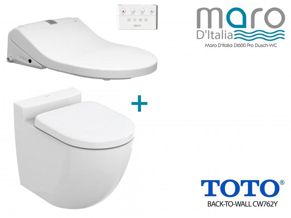 Maro D'Italia DI60 washlet + TOTO NC CW763Y