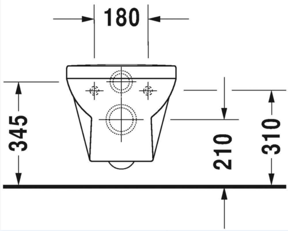 technical durastyle duravit wall mounted toilet