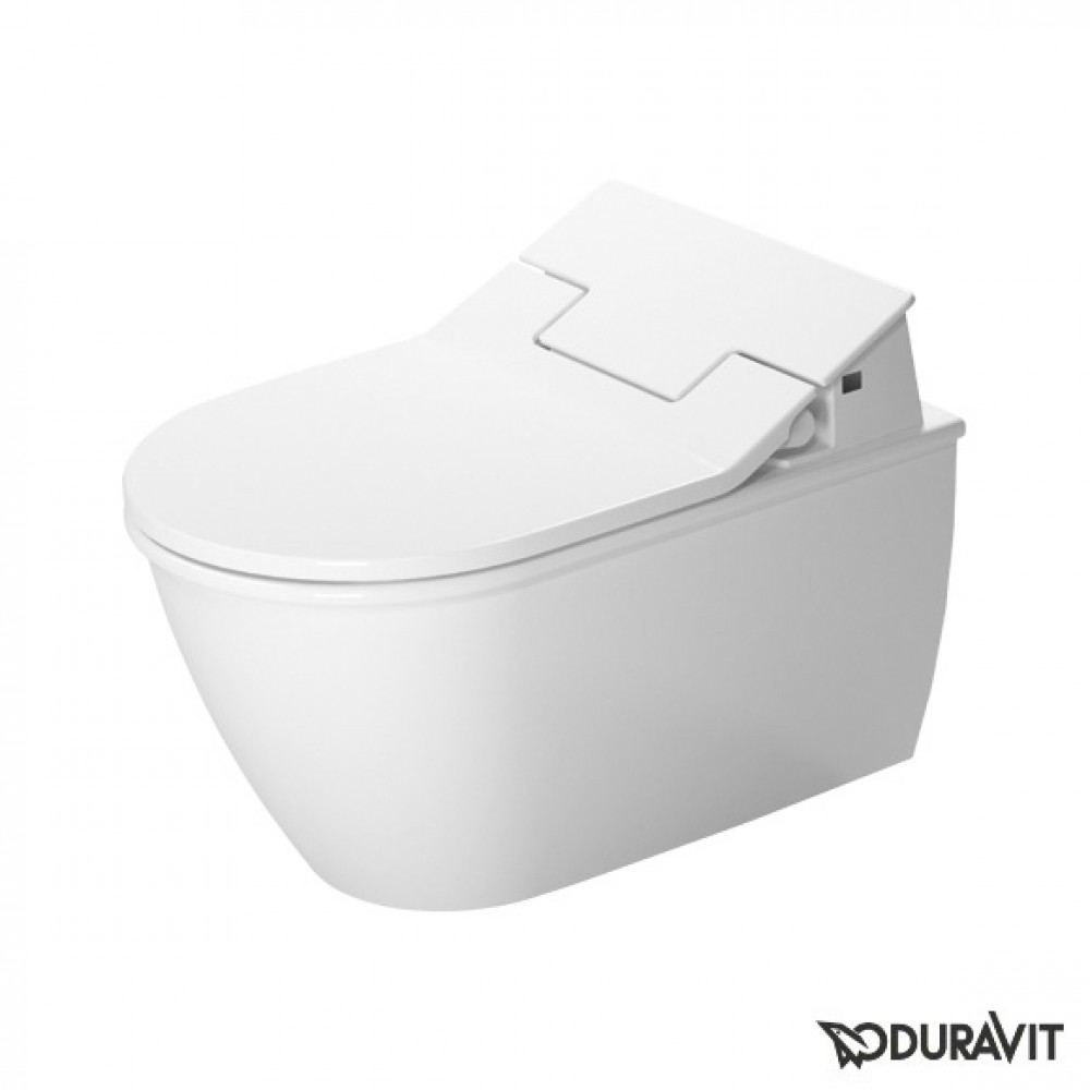 Darling New wall-mounted, washdown toilet, rimless with SensoWash Slim toilet