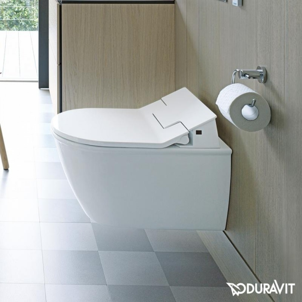 Duravit Darling New wall-mounted, washdown toilet, rimless with ...