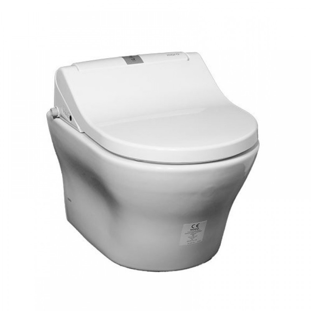 Complete set with wall hung toilet toto mh cw162y at its - Japanese toilet bidet combination ...