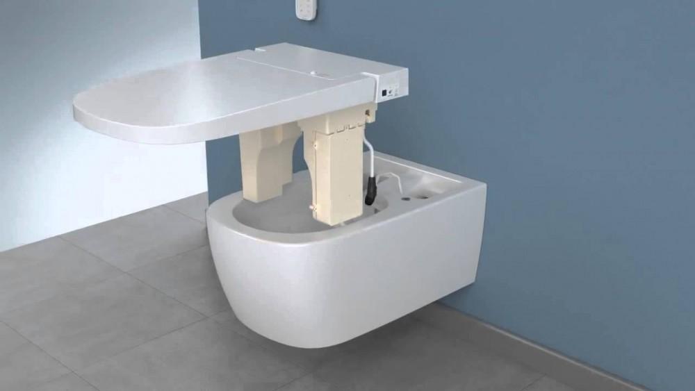 shower toilet vitra v care bidet combination