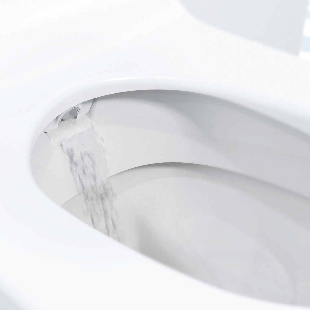 Geberit AquaClean Sela Shower toilet nozzle cleaning washing