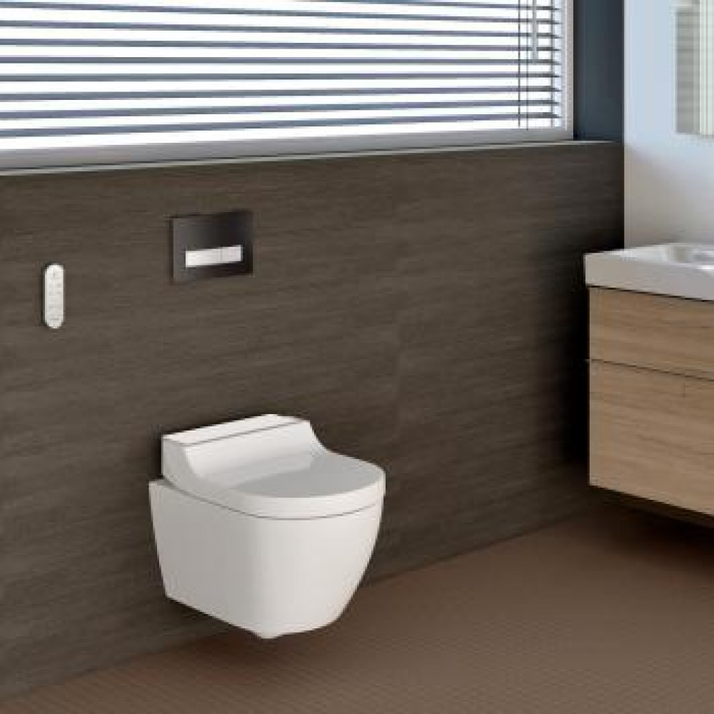 Geberit AquaClean Tuma Comfort complete shower toilet set Tooaleta