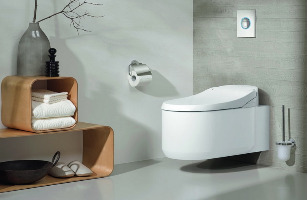 grohe sensia arena toilet with bidet function tooaleta. Black Bedroom Furniture Sets. Home Design Ideas
