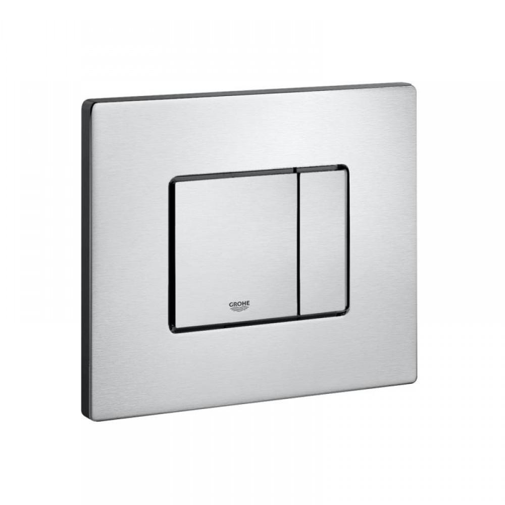 grohe skate cosmopolitan stainless steel toilet flush plate for horizontal installation tooaleta. Black Bedroom Furniture Sets. Home Design Ideas
