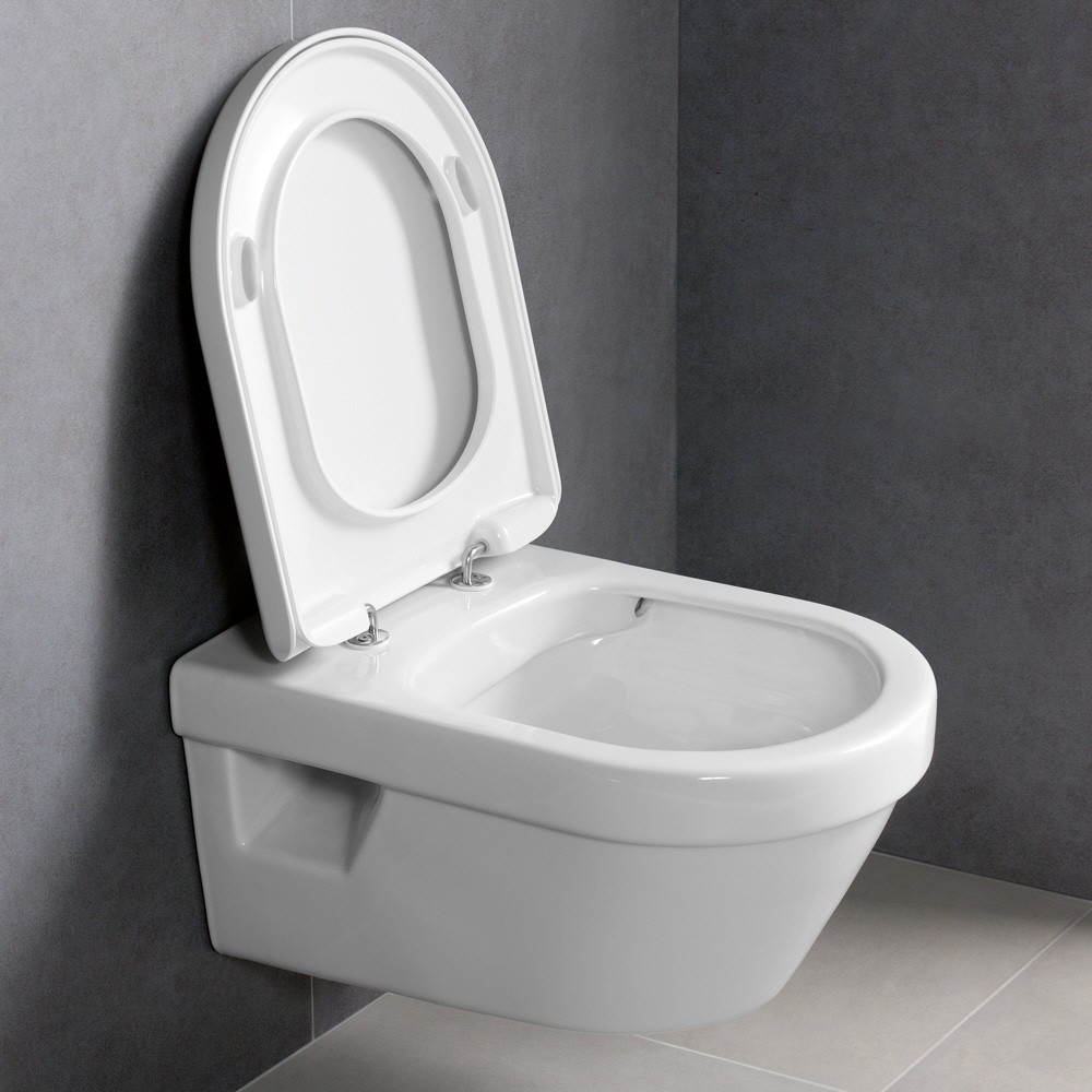 villeroy boch architectura wall mounted washdown toilet. Black Bedroom Furniture Sets. Home Design Ideas