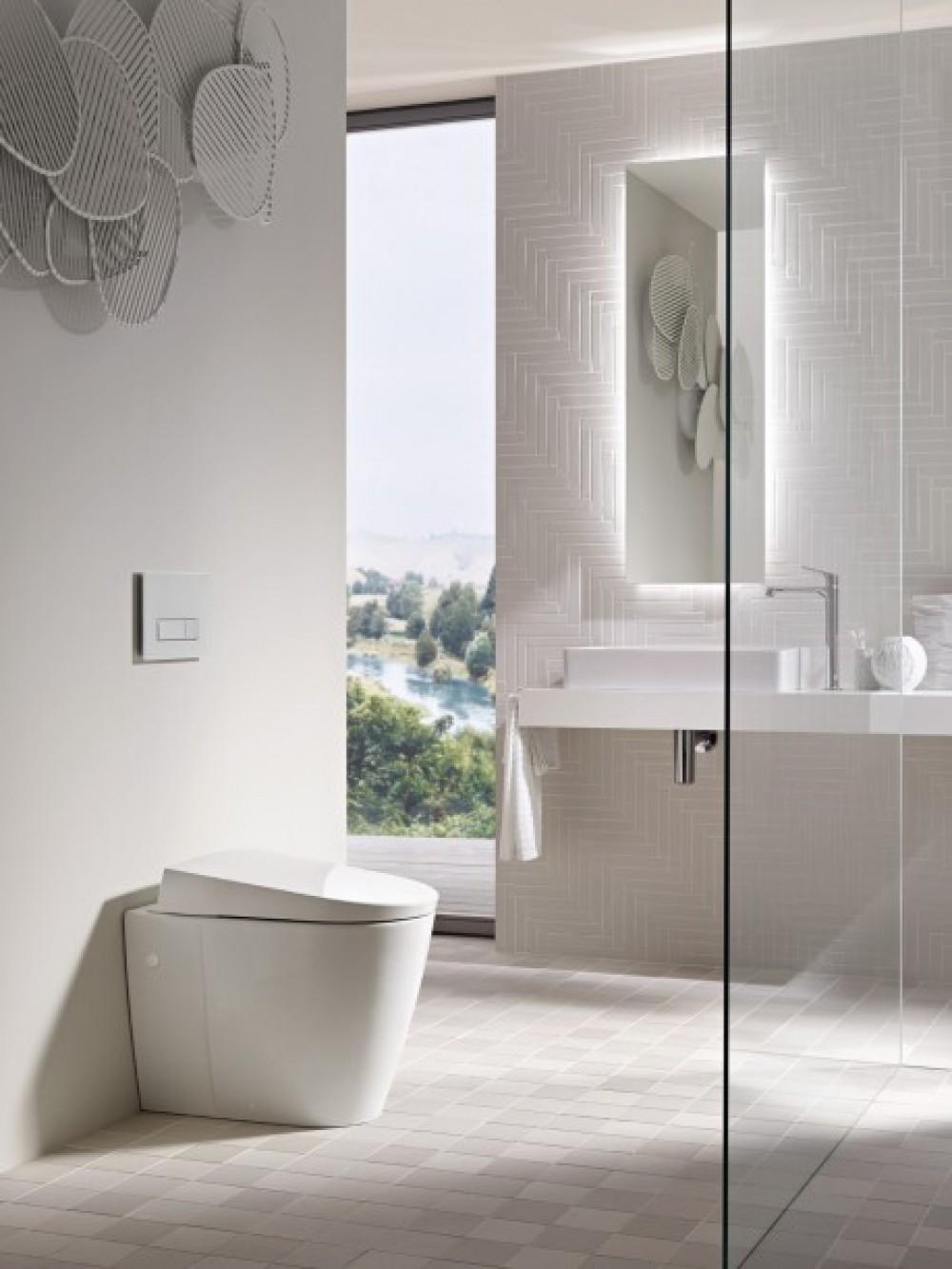 Geberit tooaleta AquaClean Sela Shower toilet complete, floor-standing 146170111