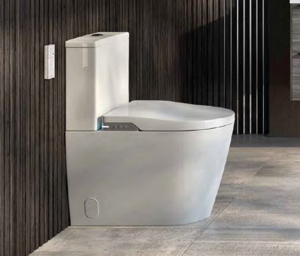 close coupled shower toilet