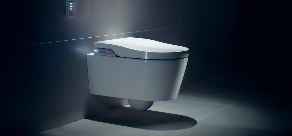 roca in wash shower toilet bidet seat