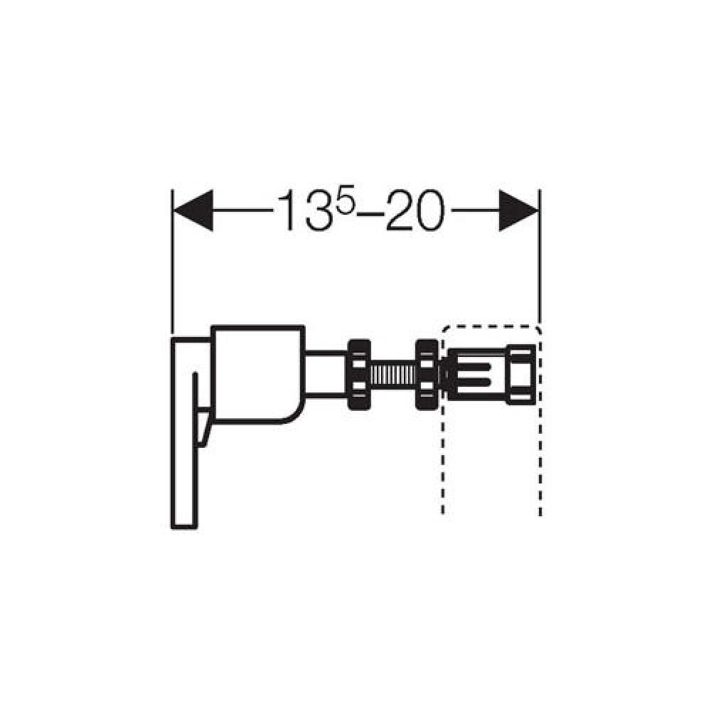 Geberit Duofix wall fastening set 111815001 cistern frame flushing