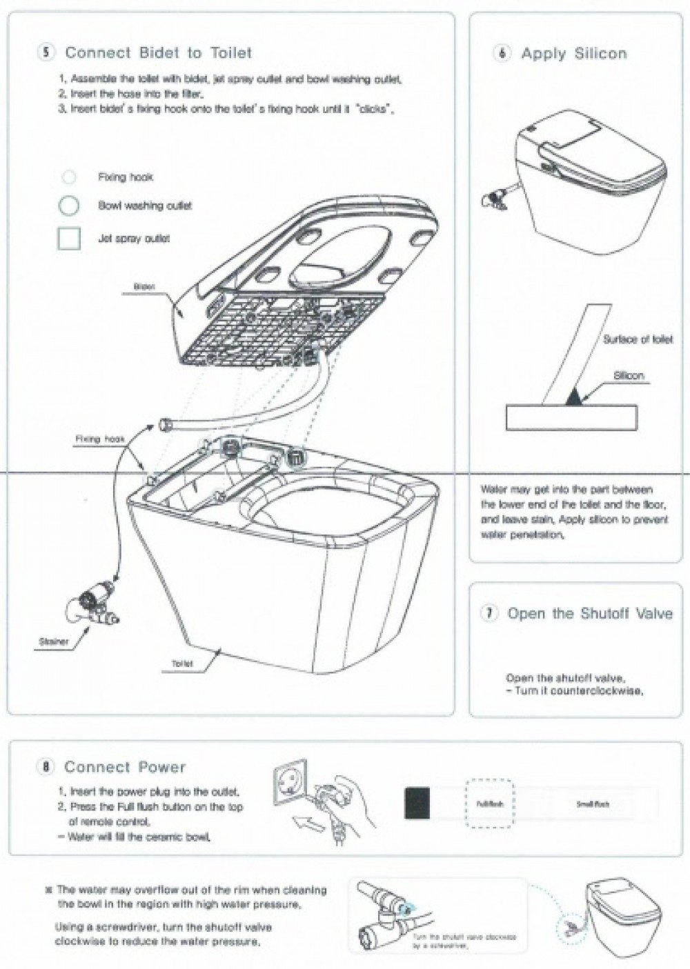 Vovo Princess PB 707S description toilet bidet