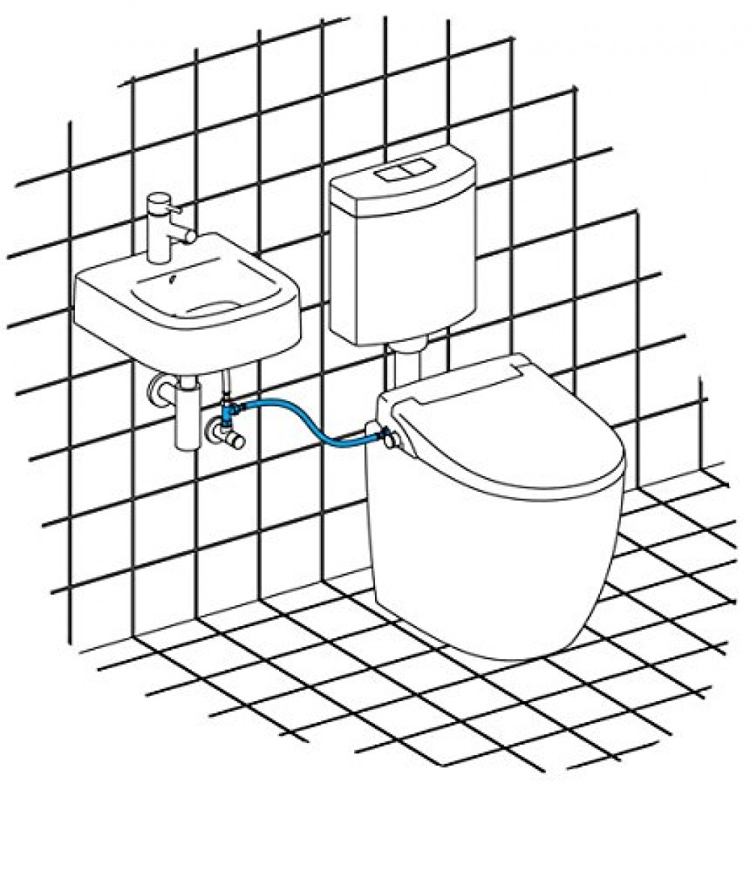 Wash basin  maro d'italia water connection FP104 FP108 FP106