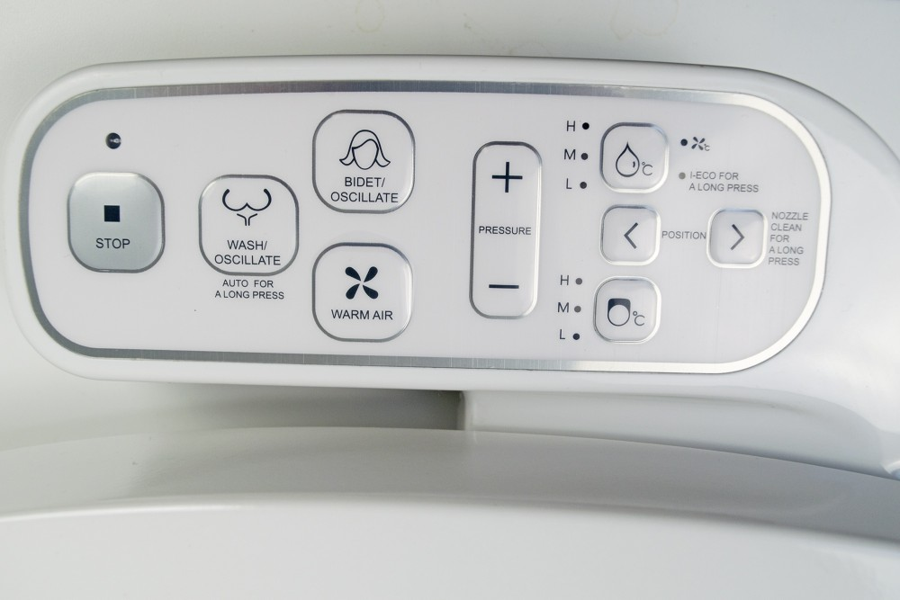 side control panel maro di800 washlet