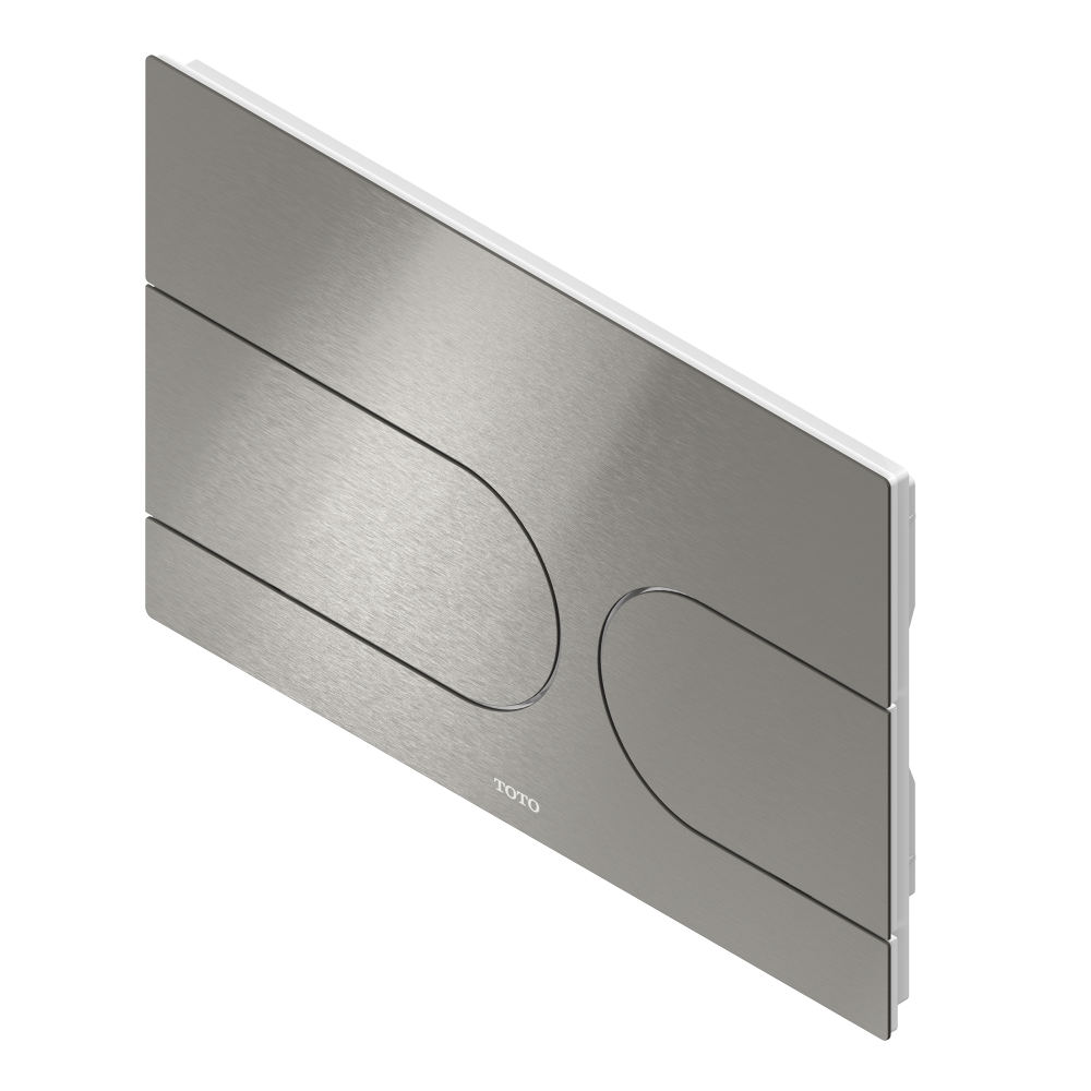 toto flush plate brushed steel