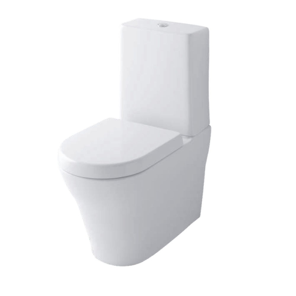 TOTO mh floor standing wc toilet pan rimless