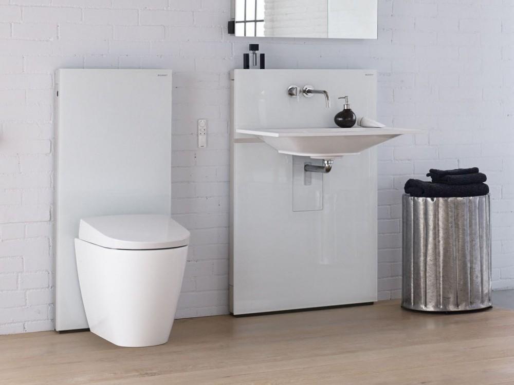 Geberit Aquaclean Sela Shower Toilet Complete Floor