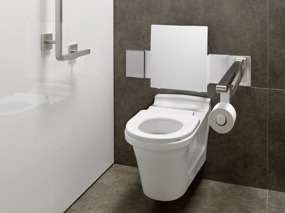 Toto Commercial Cf Wc Wallhung Barrier Free Washdown