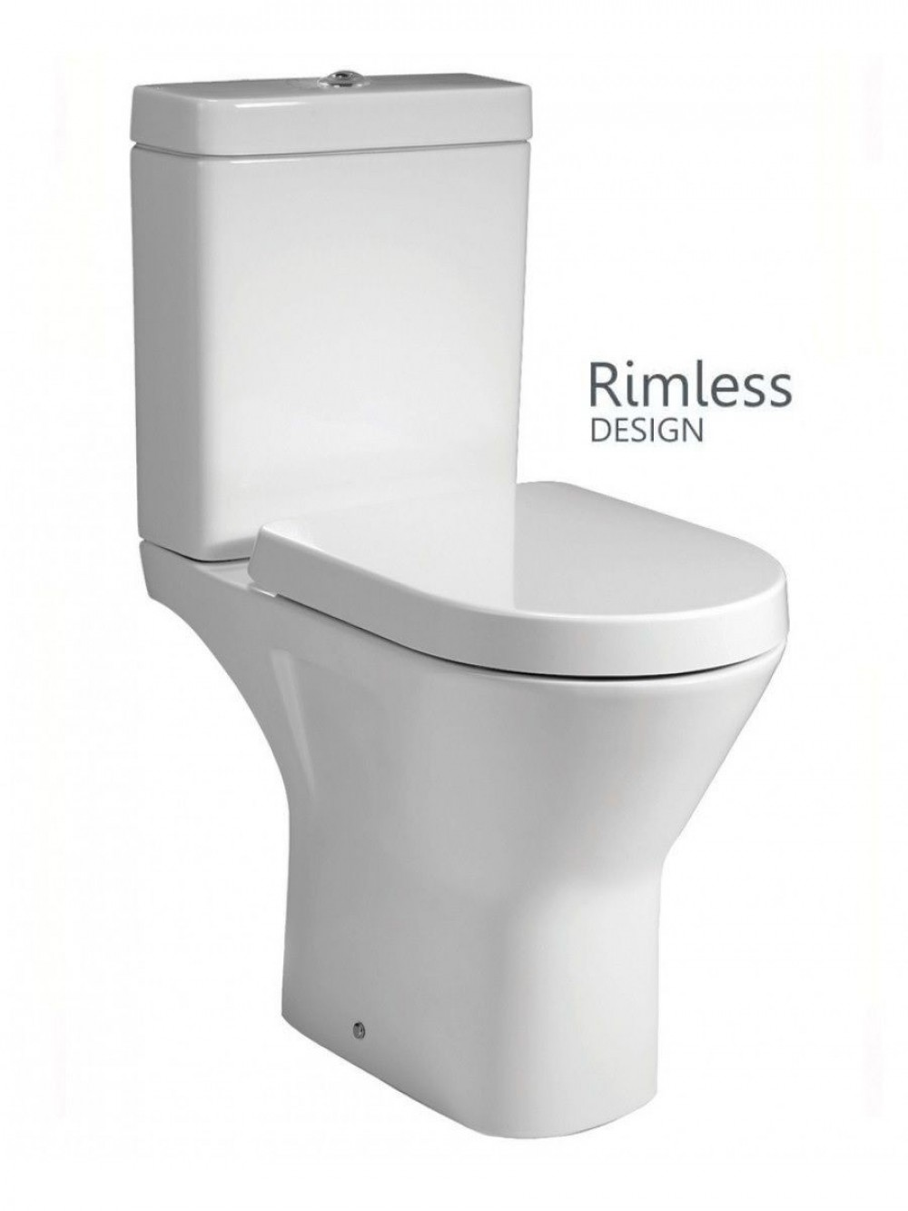 Combination Comfort Height Rimless Toilet Maro D Italia